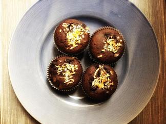Gluten-Free Vegan Chocolate Pear and Date Muffins