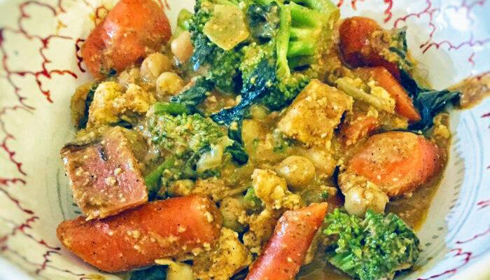 Creamy Vegan Vegetable Curry