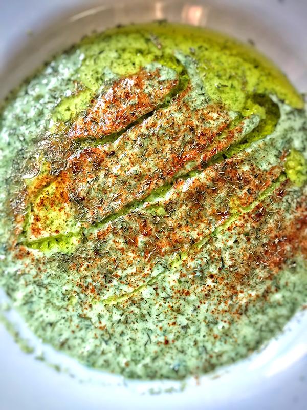 High Protein Cucumber Gazpacho
