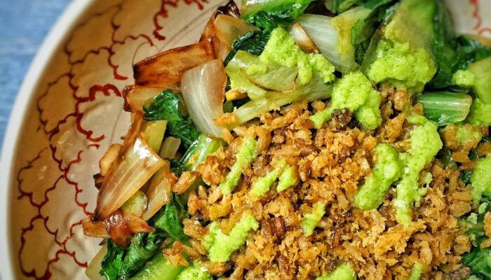 Savory Breakfast Fried Rice Salad