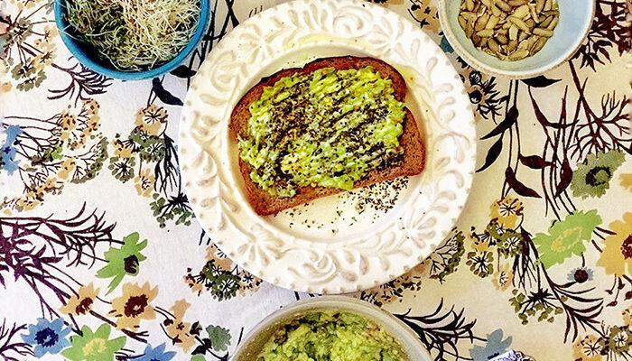 Avocado Toast—Three Ways