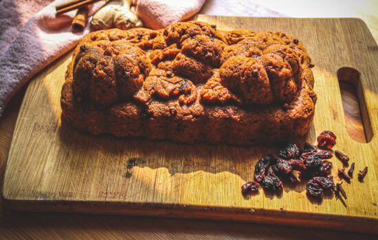 Sweet Vegan Pumpkin Bread with Discard Sourdough Starter