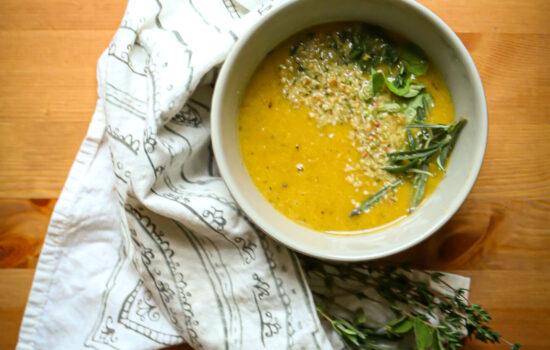 Cauliflower Pumpkin Soup