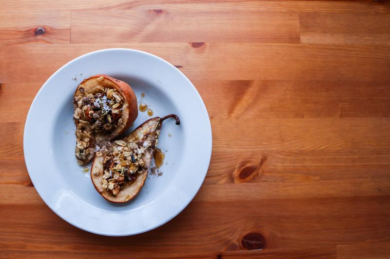 Ayurvedic Baked Pears