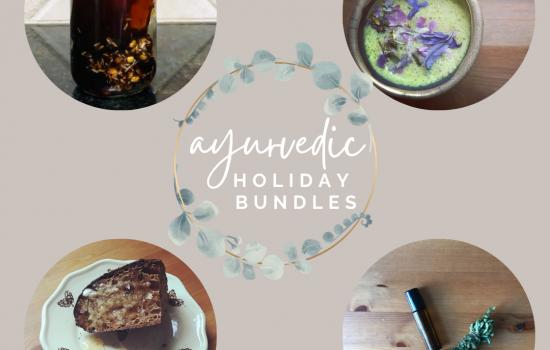 Ayurvedic Holiday Bundles